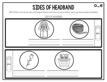 Crown Headband MAGIC E and BOSSY E (Part of a Bundle)