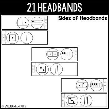 Crown Headband NUMBERS 0-20 (Part of a Bundle)