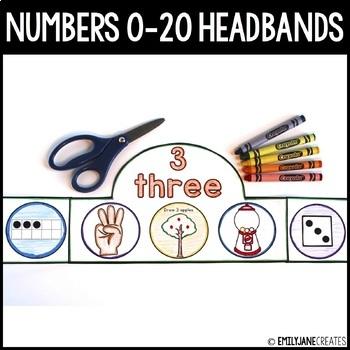 Number Headbands (0-20)-(Part of a Bundle)