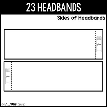 Crown Headband WORD FAMILIES (Part of a Bundle)