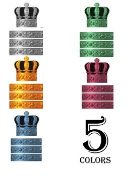 Crown Printable for Special Days