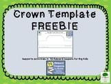Crown Template FREEBIE
