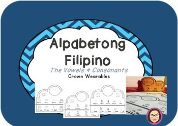 Filipino Alphabet Crown Wearables