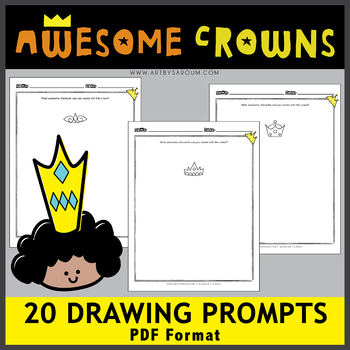 Crowns Drawing Prompts