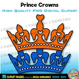 Crowns | Prince Crowns Clip Art for Personal and Commercial Use