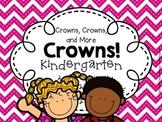 Back to School Crowns for KINDERGARTEN (First Week of School)