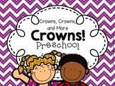 Preschool Crowns (First Week of School - Back to School)
