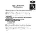 Crucible - Act 1 Qs