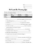 Crucible Act 1 Vocab Quiz
