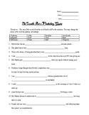Crucible Act 2 Vocab Quiz