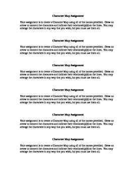Crucible Character Map