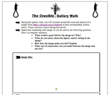 English worksheet  The Crucible  Pre Reading Discussion Questions