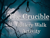 Crucible Gallery Walk: Writing and Image Analysis Activity