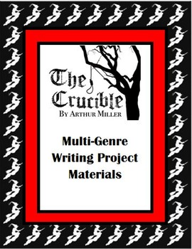 Crucible (Multi-Genre Project Unit Plan)