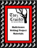 Crucible (Multi-Genre Project Unit Plan)