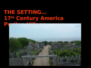Crucible Powerpoint Lecture American Literature