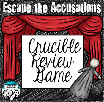 Crucible Review Game Escape Room