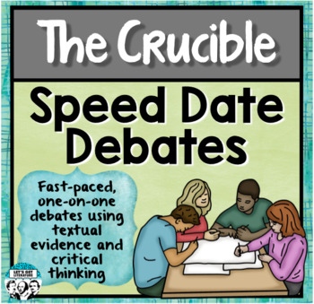 Crucible Review Speed Date Debates