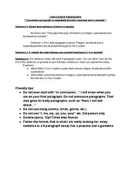 Business Strategy Essay Crucible Theme Essayoutline Health Insurance Essay also Business Management Essay Topics Crucible Theme Essayoutline By Miss Cottom  Teachers Pay Teachers Examples Of High School Essays