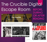 Crucible by Arthur Miller Digital Escape Room - Before, Du