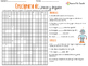 Crucigrama - Lineas y Angulos - Crossword - Spanish