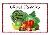 Crucigrama de Frutas y Verduras