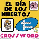 Crucigrama para El Día de Los Muertos. Day of the Dead Crossword Pack in Spanish