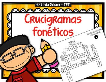 Crucigramas fonéticos en español