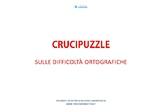 Crucipuzzle di difficoltà ortografiche