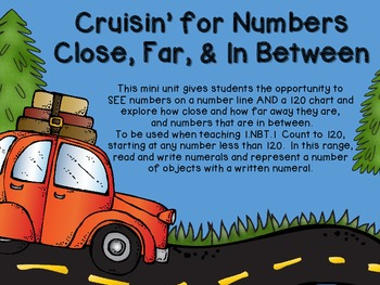 Cruisin for Close, Far, & In Between Numbers