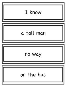 Cruising Through Fluency Phrases Set 2