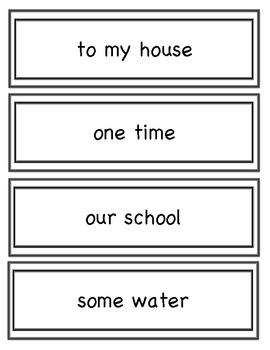 Cruising Through Fluency Phrases Set 3