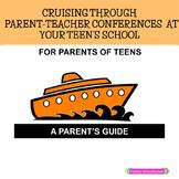 Parent Teacher Conference Forms FOR PARENTS