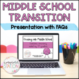 Transition to Middle School Classroom Lesson Frequently Asked Questions (FAQs)
