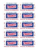 Crunch Bar Testing Treat Labels