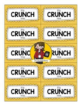 Crunch Testing Treat