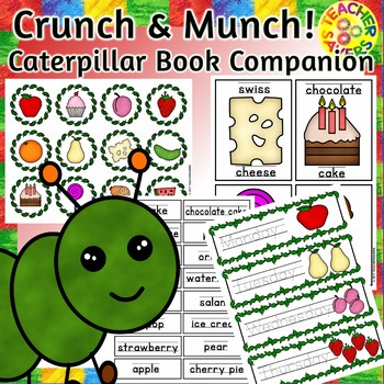 Crunch and Munch Caterpillar Book Companion
