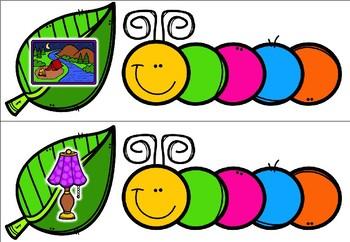 Crunching Caterpillars - Writing CCVC Words