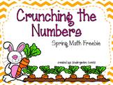 Spring Freebie - Crunching the Numbers