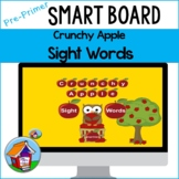 Crunchy Apple Sight Words