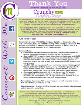 Crunchymom.org Terms of Use