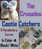Crusades Activity (Middle Ages Game: Cootie Catcher Foldable Review)