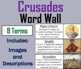 Crusades Word Wall Cards