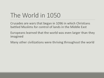 Crusades & the Wider World