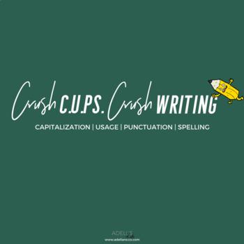 Crush C.U.PS. Crush Writing