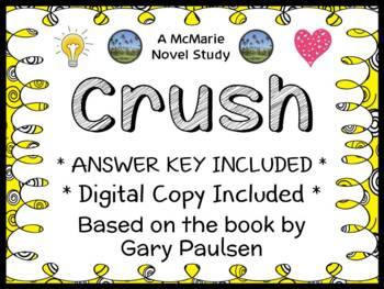 Crush (Gary Paulsen) Novel Study / Reading Comprehension Unit