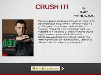 Crush It - Gary Vaynerchuk
