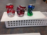 Crushed Soda Can Observational Drawing