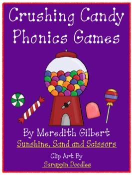 Crushing Candy Phonics Games