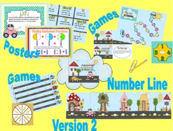 Crusin the Number Line: Games for Teaching Fractions